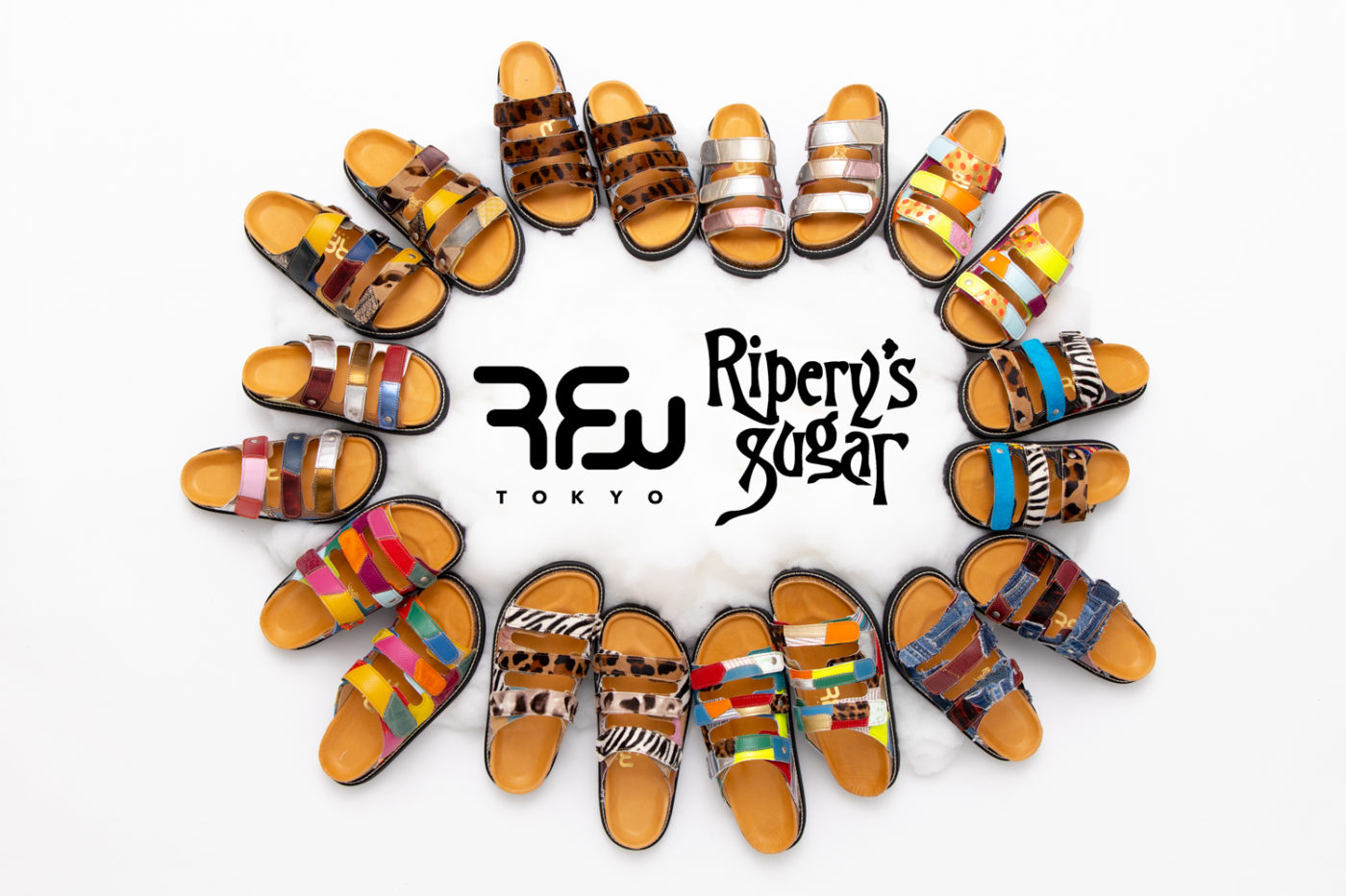 RFW x Ripery's Sugar SANDAL [PUFFIN 3] collaboration